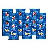 Roasted Cashews with Salt, Premium Quality Nuts, (Autobag 40g x 12 Packs) by Krispy Kernels