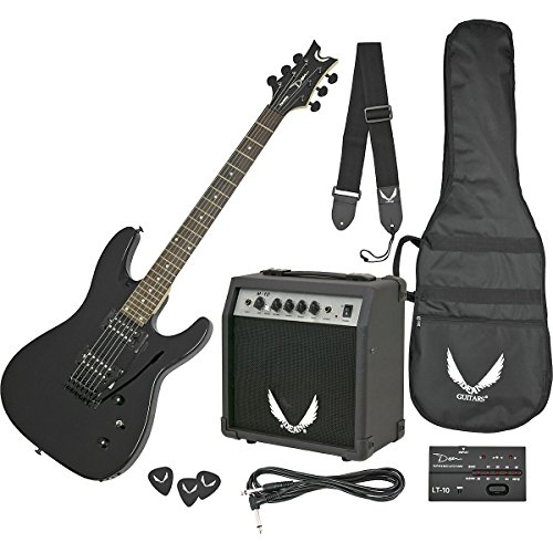 Dean Vendetta XMT Electric Guitar with Tremolo - Metallic Black (Dean Vnxmt Mbk Guitar compare prices)