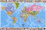 World Map - Political Collections Poster Print, 36x24