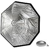 "Westcott Rapid Box XL 36"" Octabox with Deflector Plate (Bowens Mount), Silver"