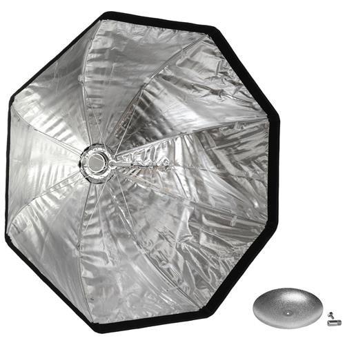 Westcott Rapid Box XL 36'' Octabox with Deflector Plate (Bowens Mount), Silver by Westcott