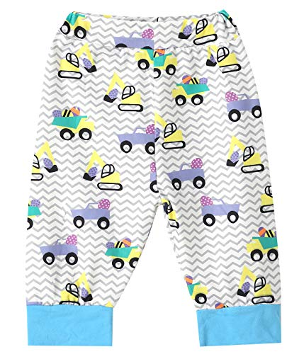 b4b2bd98bd5f Truly One Baby Boys Girls My First Easter Gift Eggs Printed Bodysuit Pants  with Hat (