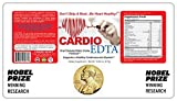 2 Bottles of CARDIO EDTA Nitric Oxide L Arginine 5000mg L - Citrulline 1000MG - CoQ10 - Hawthorne - Professional Grade Doctor Recommended