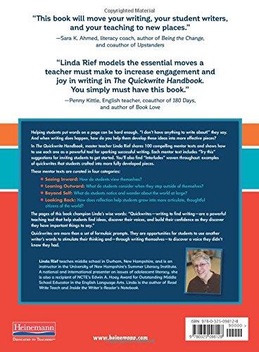 The Quickwrite Handbook: 100 Mentor Texts to Jumpstart Your ...