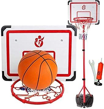 ZPTECH-lq Polea portátil Ajustable Baloncesto Basket Adulto de ...
