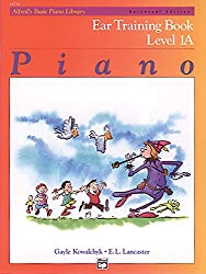 Alfred's Basic Piano Course Ear Training, Bk 1a: Universal Edition (Alfred's Basic Piano Library)