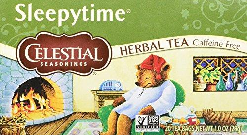 Celestial Seasonings Sleepytime Herbal Tea, 20 Count (Pack of 6)