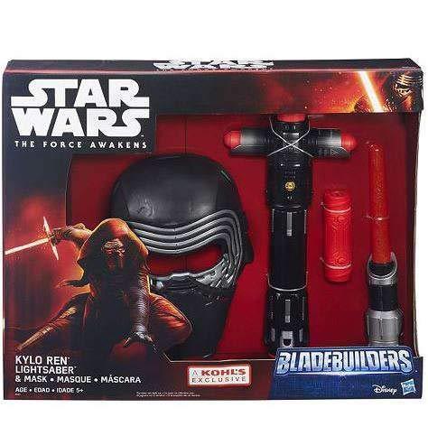 Star Wars: Episode VII The Force Awakens Kylo Ren Bladebuilders Lightsaber & Mask Set -