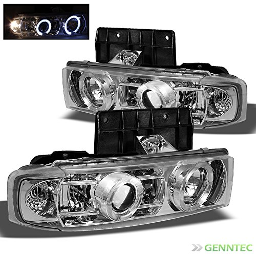 Chevy Astro Halo Headlights - 4