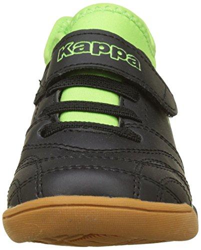 Chaussures Ii Noir Enfant 1133 Final black Indoor Multisport lime Kappa Mixte 0gEqw5