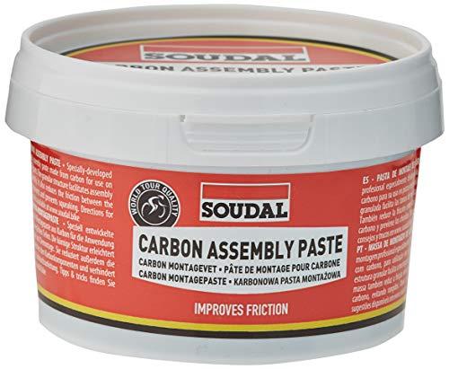Soudal Pasta Montage Carbon 200 ml (vet) Carbon Assembly Pasta 200 ml (GREASE)