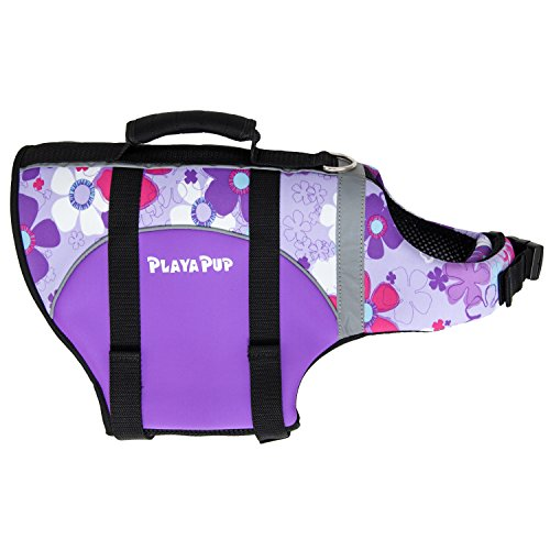 PlayaPup Dog Life Jacket, XX-Small, Orchid