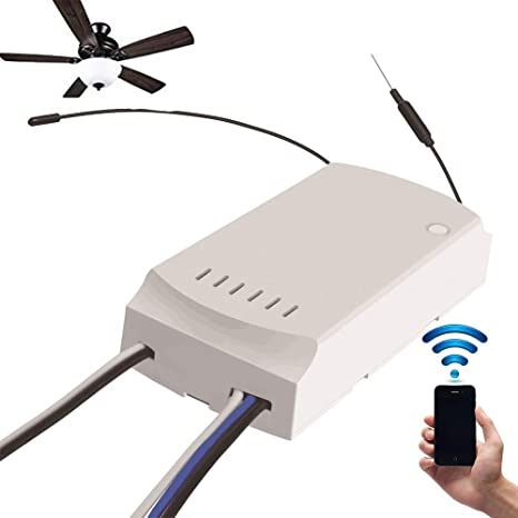 Owsoo Sonoff Ifan03 Ceiling Fan And Light Controller Convert Led To Wifi Smartapp Remote Control On Off Smart Switch Controller Ac100 240v 50 60hz