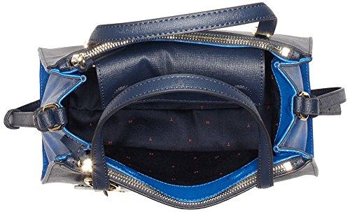 B Tommy Donna H secchiello Hilfiger x Blau Navy 14x25x30 Borse Modern Tommy Cb a Satchel cm T rAwrqO