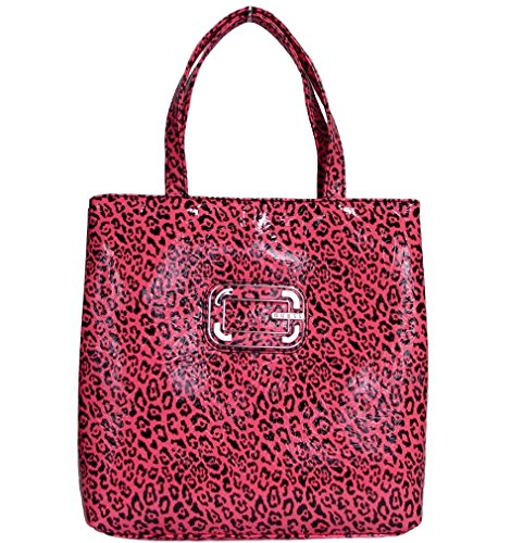 Guess Cat Power Small Tote Bag Handbag (pink)