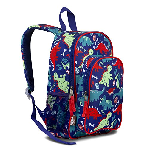 LONECONE Kids' Canvas Preschool Backpack - School Bag for Little Boys and Girls, Pack-O-Saurus by LONECONE