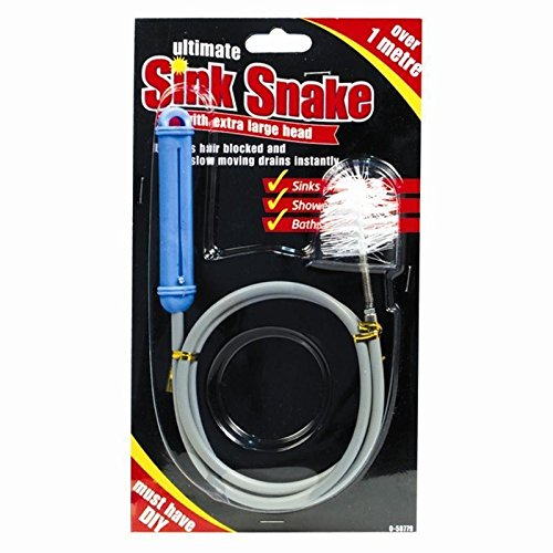 Extra Large Head to Unblock Drain Ultimate Sink Snake