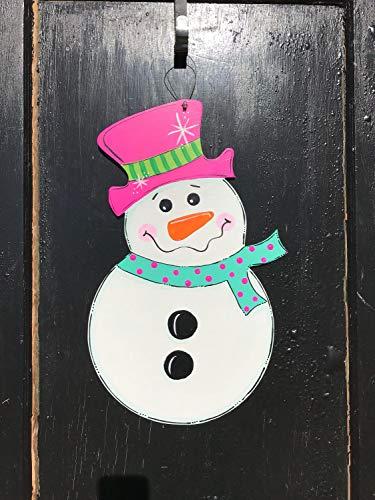- Olga212Patrick Snowman Door Hanger Winter Door Decoration Winter Sign Winter Wood Sign Snowman Decor Showman Door Hanger Snowman Wreath Wooden Winter Decor
