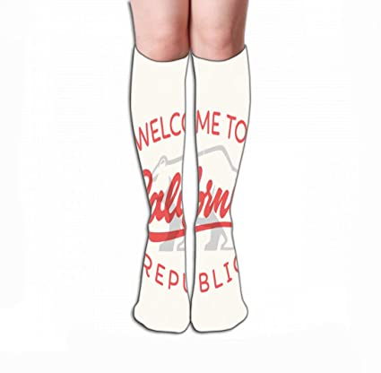 Amazon com: Xunulyn Men Women Outdoor Sports High Socks