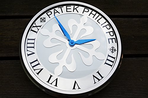 patek-philippe-calatrava-dealer-showroom-wall-clock-white-dial