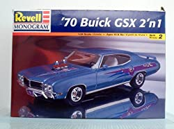 1970 Buick GSX 2 N 1 Kit by Revell Scale 1:24 by Revell