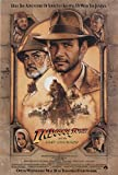 """Indiana Jones and the Last Crusade 1989 Authentic 27"""" x 41"""" Original Movie Poster Rolled Near Mint Sean Connery Adventure U.S. One Sheet Advance"""