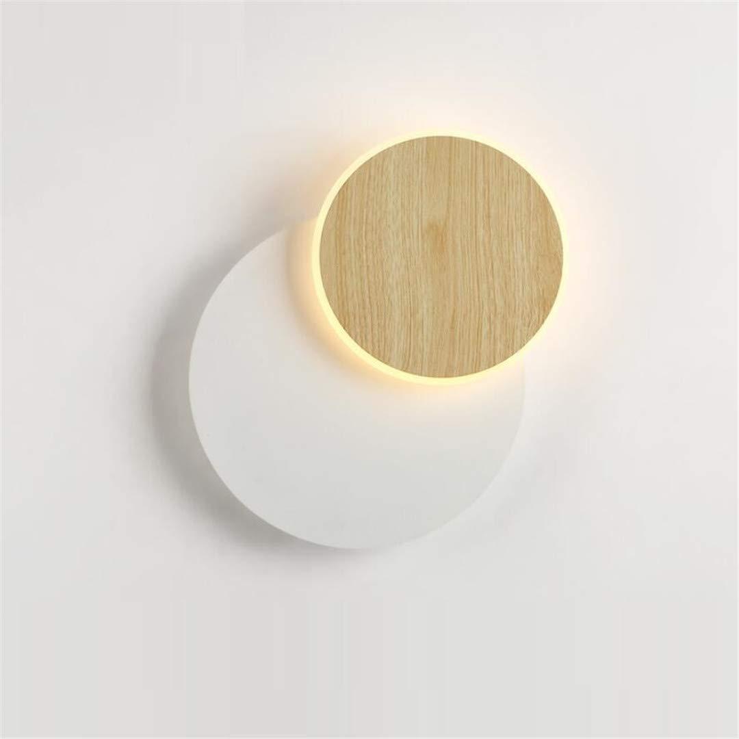 Deckenleuchte Nordic Wohnzimmer Tv Wand Led Wandleuchte Moderne Minimalistische Schlafzimmer Nachttischlampe Holzmaserung Studie Gang Lampen