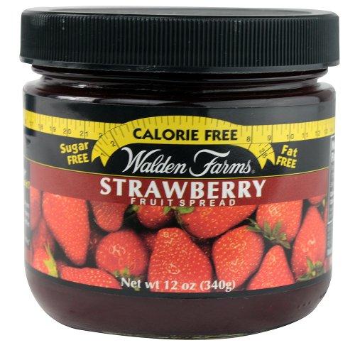 Walden Farms Strawberry Fruit Spread, 12 Ounce - 6 per case. ()