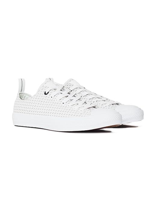 0fb861b4f7ed11 Converse Chuck Taylor All Star II OX White - White - 12  Amazon.co ...