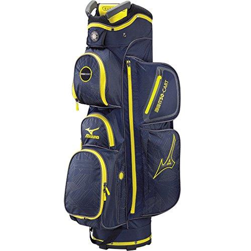 Mizuno Eight50 Cart Bag, Navy (Mizuno Golf Travel Bags)