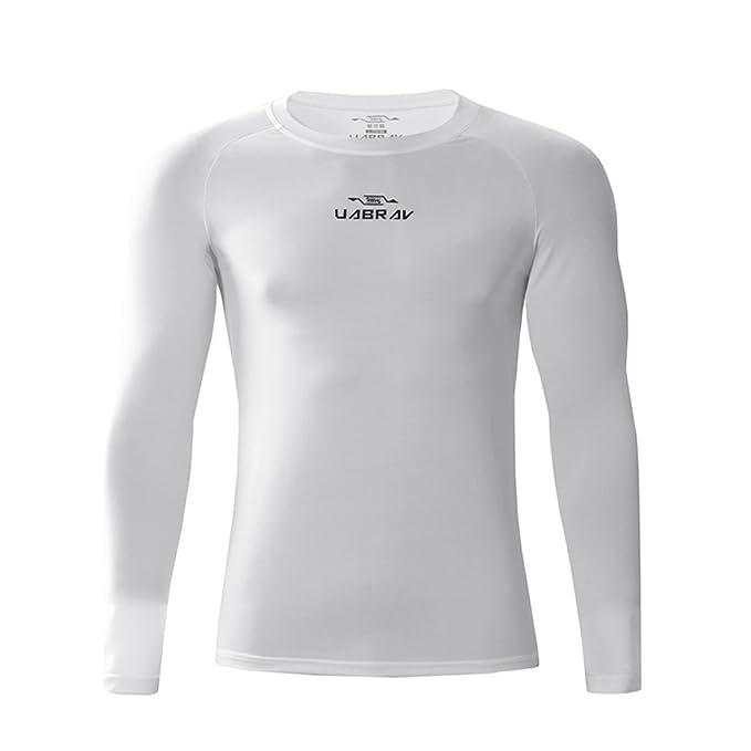 venta caliente real diseño popular bien baratas Camiseta de Compresión de Manga Larga Térmica Secado Rápido ...