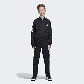 adidas Yb Xfg TS Chándal, Niños, Negro (Black/White), L (Talla ...