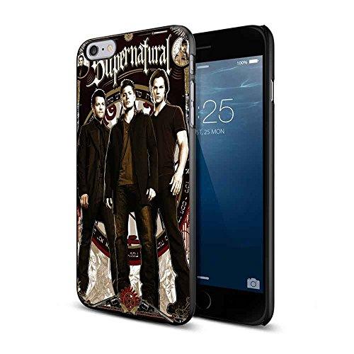 Supernatural Sam, Dean and Castiel For iPhone 6 Plus/6s Plus Black Case