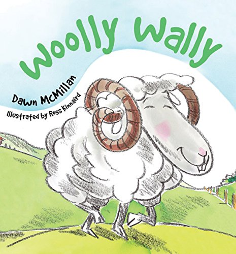 Book cover from Woolly Wally by Dawn McMillan
