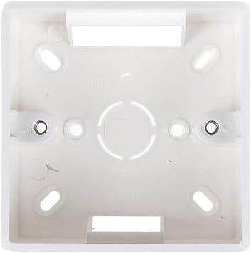 1 pieza impermeable 86 tipo interruptor enchufe, conjunto de base, caja de derivación, caja inferior de