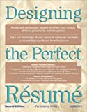 img - for Designing the Perfect Resume by Pat Criscito CPRW (2000-04-01) book / textbook / text book