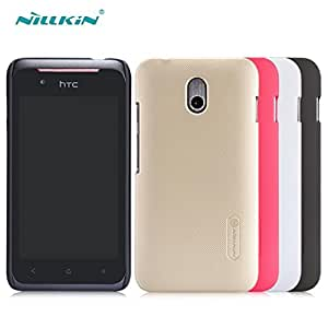 Deal4U Nillkin Frosted Hard Case Back Cover Case For HTC Desire 210 With Retailed Package Gift Screen Protector #-# Color#=Gold