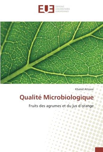 Qualité Microbiologique: Fruits des agrumes et