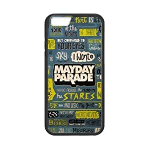 """High Quality Customizable Durable Rubber Material Mayday Parade Quotes iPhone 6 Back Cover Case 4.7"""""""