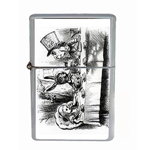 (Alice In Wonderland Mad Tea Dual Torch Lighter D-032 by Perfection In Style)