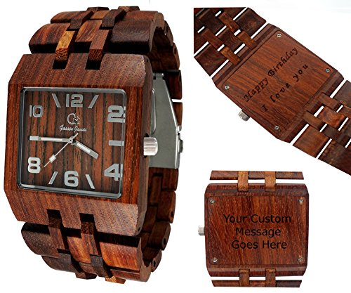 bewell wooden watch instructions