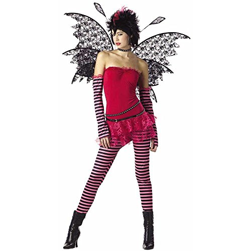 Girl's Teen Hot Rockin' Fairy Costume (Teen (Hot Fairy Teen Costumes)