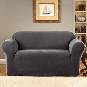 Amazon.com - Sure Fit Twill Supreme Two Piece Sofa Slipcover  |Amazon Sure Fit Slipcovers