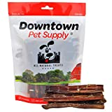 """Best Free Range 6"""" American Bully Sticks for Dogs Made in USA - Odorless Dog Dental Chew Treats, High in Protein, Great Alternative to Rawhides (6"""", 10 Pack)"""