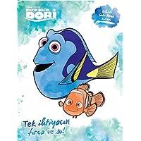 Disney Kayıp Balık Dori Sihirli Sulu Boya Kitabı: Tek ihtiyacın fırça ve su!