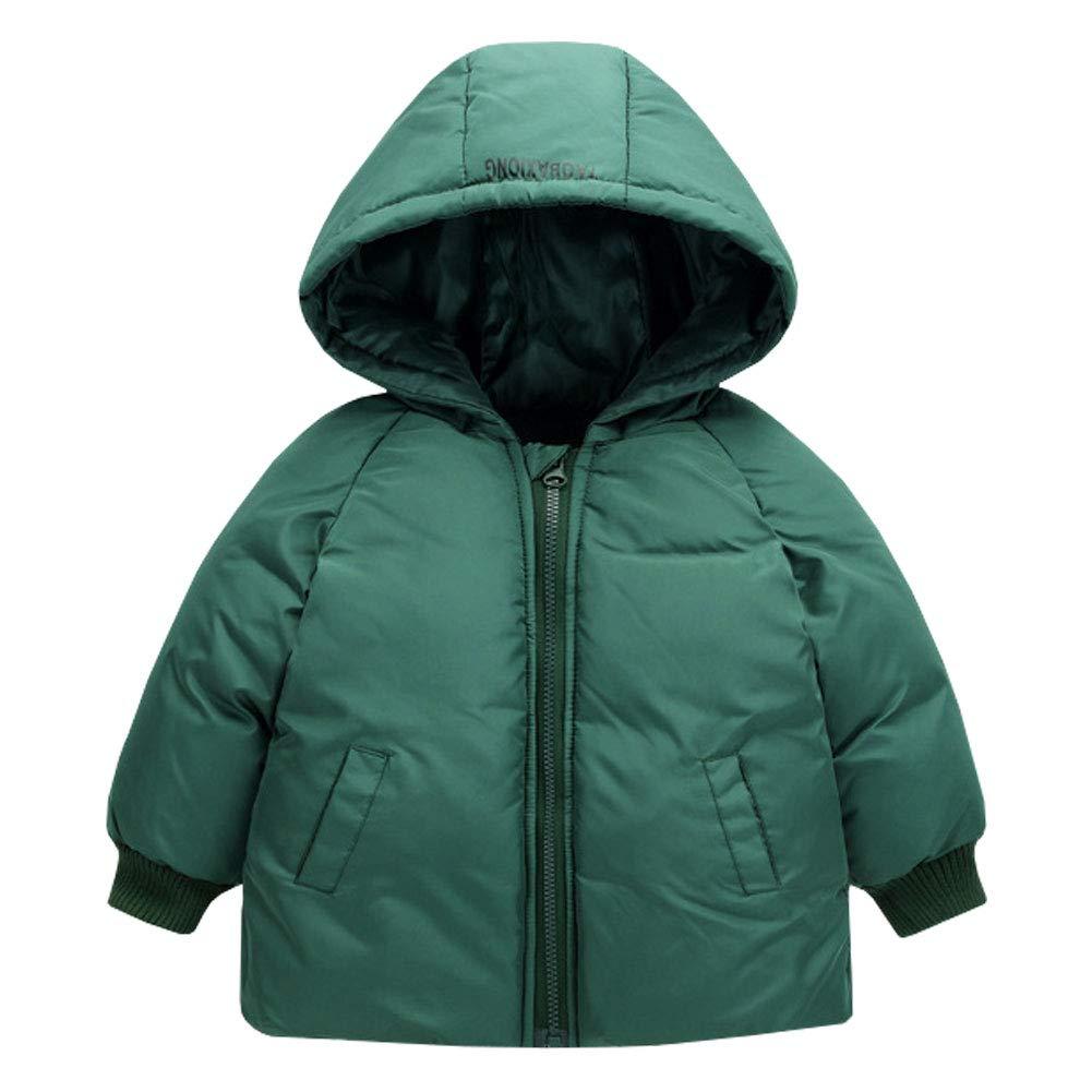 M&A Boys Lightweight Puffer Jacket Hooded Winter Coat Outerwear