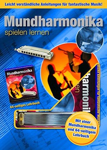 Mundharmonika spielen lernen: Boxset mit Munharmonika