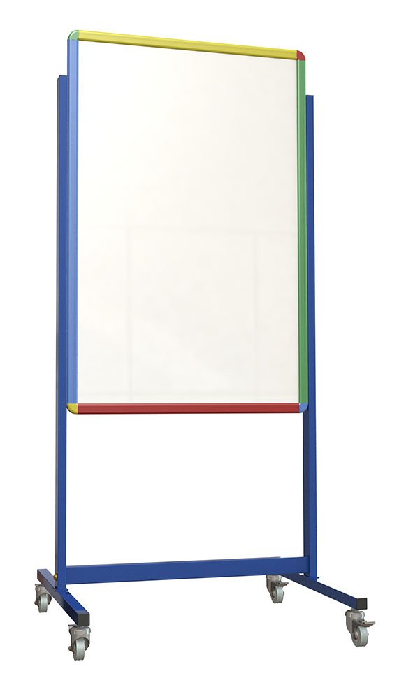 Spaceright Europe 1673P Little Rainbows Junior Mobile Magnetic Writing Board by Spaceright Europe