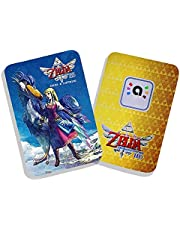 Finyosee 1 Pcs Zelda Series Amiibo Card, Mini Game Cards Link NFC Card Switch Game Skyward Sword HD,Zld & Loftwing NFC Tag Card for TLOZ, Compatible with Switch/Lite/Wii U/New 3DS (ZeldaB)
