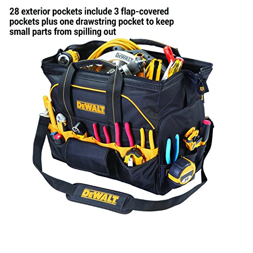DEWALT DG5553 40 Pocket 18 Inch Pro Contractor's Closed Top Tool Bag by DEWALT (Image #3)
